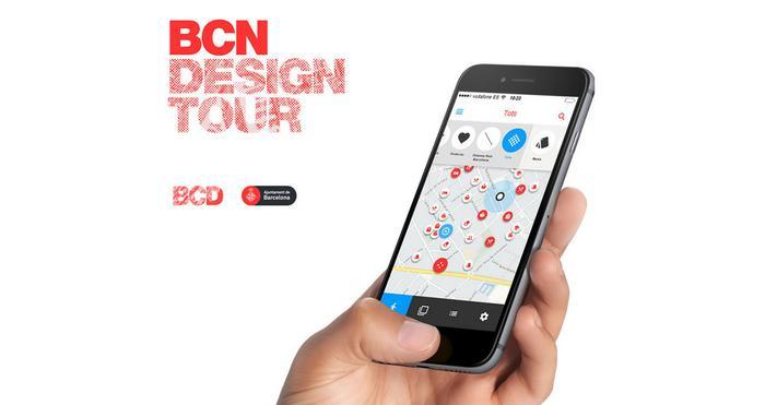 Barcelona Design Tour - App