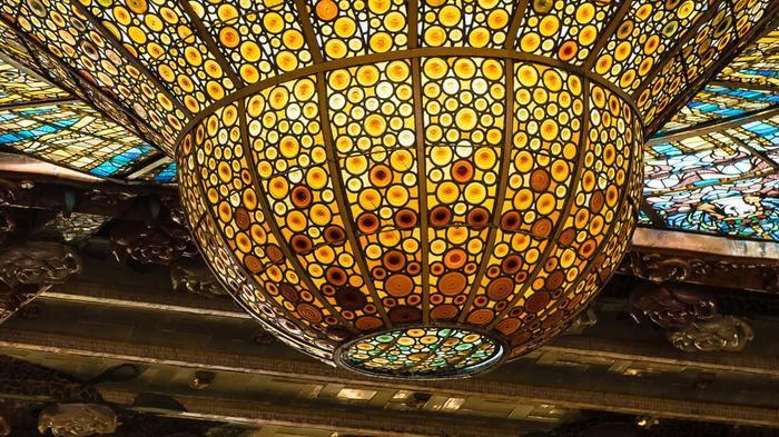 Palau de la Música Catalana - Fondo