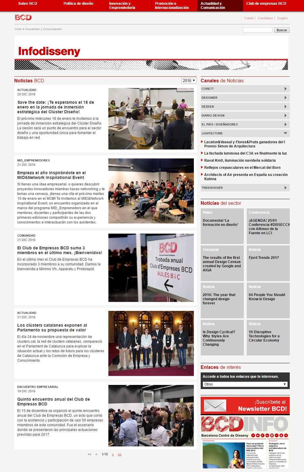 Barcelona Centre de Disseny - Infodisseny