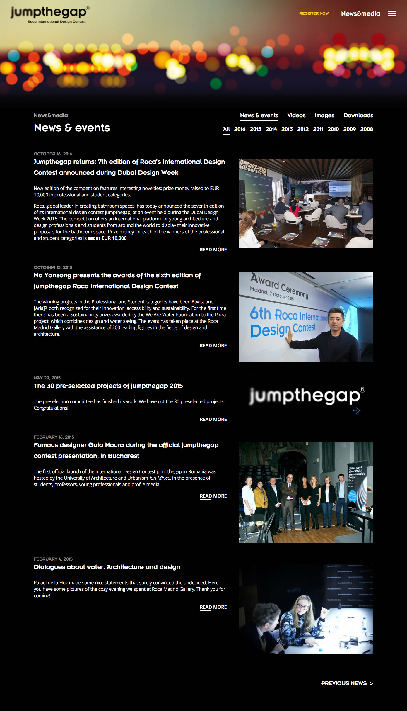 jumpthegap - News and events