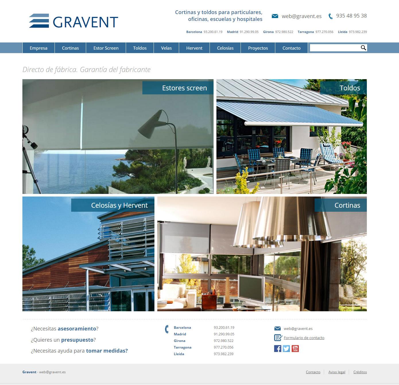 Gravent - Inicio