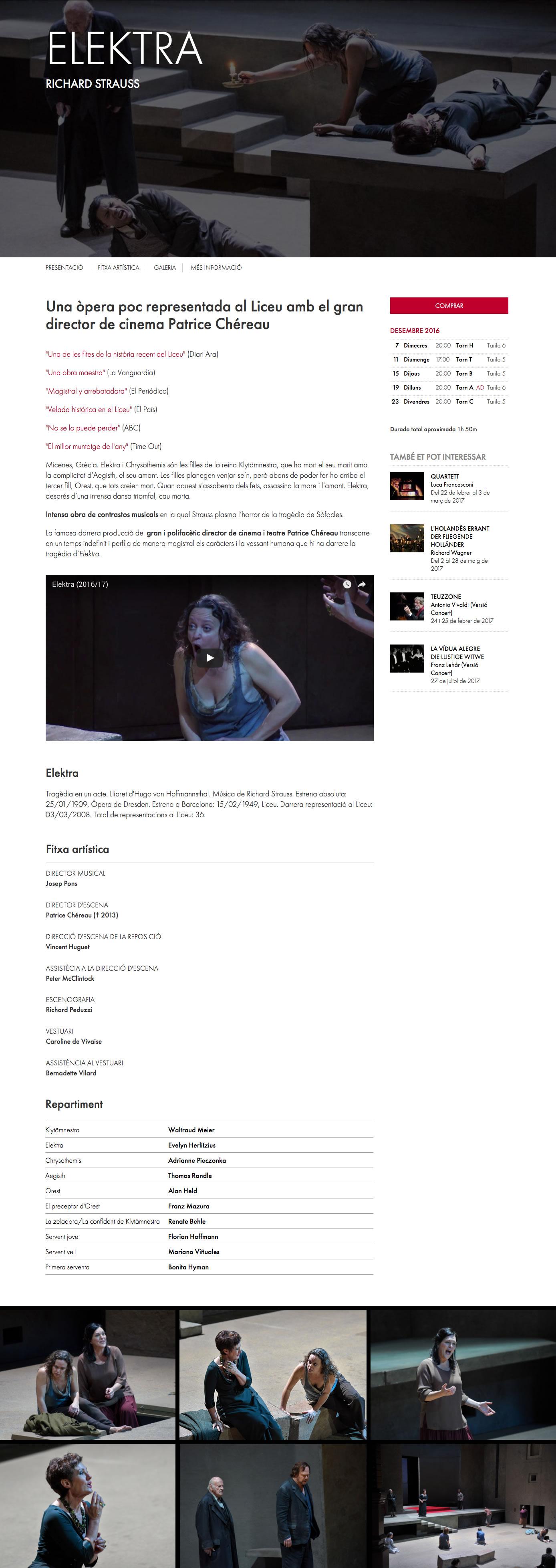 Gran Teatre del Liceu - Play