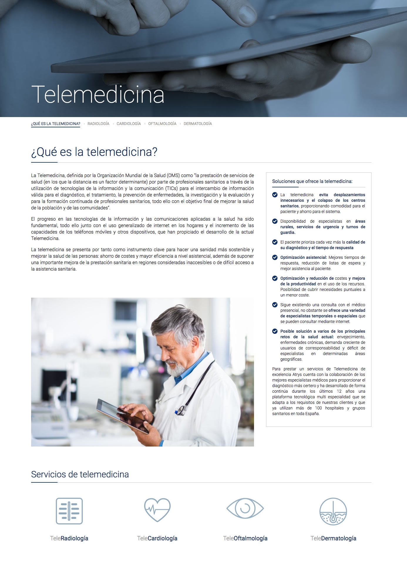 Atrys - Telemedecine