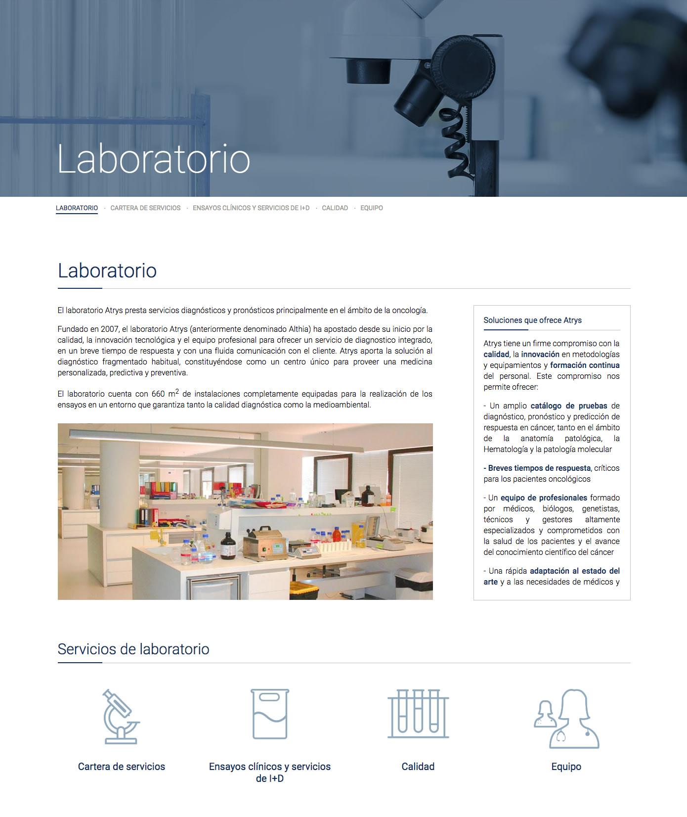 Atrys - Laboratori
