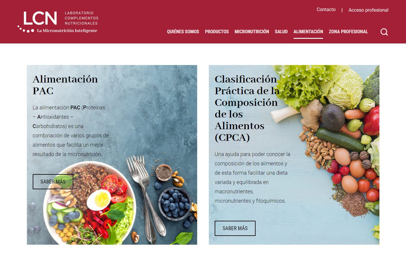 Laboratorio LCN - Nutrition